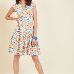 Fever London Leaf and They Will Follow Shirt Dress